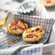 Tartelette pomme et parmesan