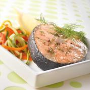 Darne de saumon à l'aneth