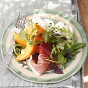 Salade melon et mozzarella