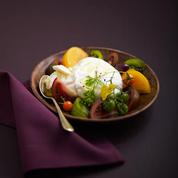 Burrata et ses tomates de collection