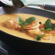Soupe de crevette thaïe au lait de coco