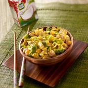 Curry de porc aux légumes