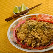 Phad thai de bœuf