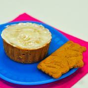Cupcake au spéculoos, glaçage à la cannelle