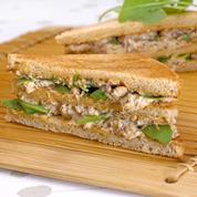Club sardines et fromage frais