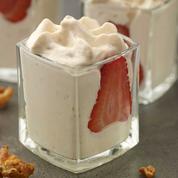 Mousse de yaourt aux petits-beurre