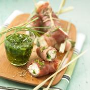 Saltimboccas de filets de lapin à la sauge et au jambon cru