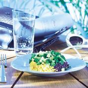 Duo de riz et légumes croquants