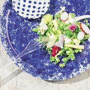 Salade césar au pop-corn