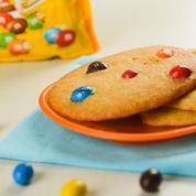 Cookies gourmands aux M&M's