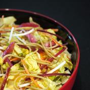 5 saveurs mélange tendre salade exotique aux nouilles soba et rosbeef
