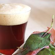 Saltimbocas de bœuf et Bière de Printemps