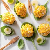 Boules de maïs doux ultra croquant