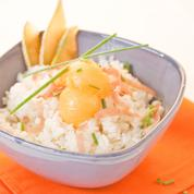 Salade de riz au melon