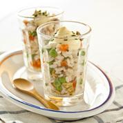 Salade de riz de la mer