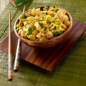 Curry de porc coco aux légumes