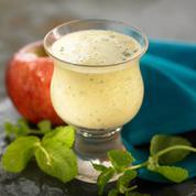 Milk-shake pomme menthe
