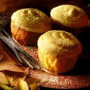 Pommes au four aux fruits secs croustillants