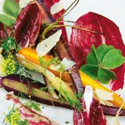 Carottes et ricotta salata