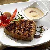 Steaks de thon à la sauce teriyaki