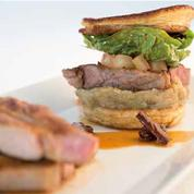 Tendron de Veau d'Aveyron et du Ségala grillé aux saveurs méditerranéennes en burger