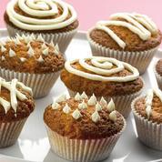 Cupcake au chocolat blanc, pomme Calvados