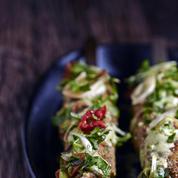Brochettes d'agneau façon kebab