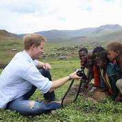 Les photos touchantes du prince Harry au Lesotho