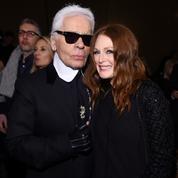 Tapis rouge de stars au défilé Chanel à New York