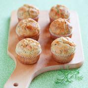 Muffin au saumon fumé et ricotta