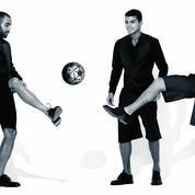 David Luiz, Thiago Silva et Lucas Moura : dieux du foot & dandys chics