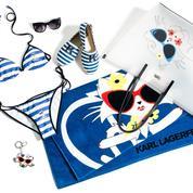 Choupette at the beach : la capsule estivale de Karl Lagerfeld
