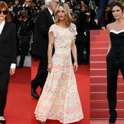 Victoria Beckham, Kirsten Dunst... Esprit smoking vs jeunes filles en fleurs sur le tapis rouge