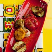 Légumes grillés au curry