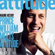 Le prince William en couverture d'un magazine gay