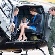 George de Cambridge s'offre un tour en hélicoptère