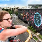 Street Art : Mademoiselle Maurice colore le XIIIe arrondissement de Paris