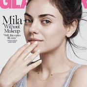 No make-up : Mila Kunis se dévoile (elle aussi) au naturel