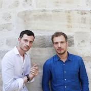 Jean-Baptiste Del Amo et Vincent Message :