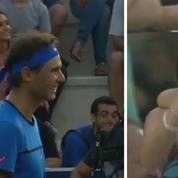 Rafael Nadal interrompt son match pour aider une mère à retrouver sa fille