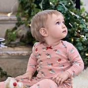 Enfants : de jolis pyjamas pour attendre le Père Noël
