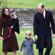 George et Charlotte de Cambridge assistent à leur première messe de Noël