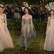 Défilé Christian Dior Printemps-été 2017 Haute couture