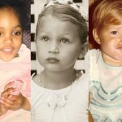 Cindy Crawford, Gisele Bündchen, Gigi Hadid... Quelle tête avaient les mannequins les plus connus enfants ?