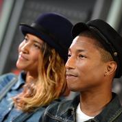 Pharrell Williams et sa femme, heureux parents… de triplés