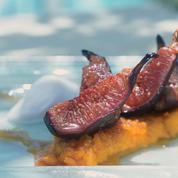 Figues rôties et risotto caramélisé