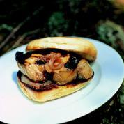 Foie gras burger