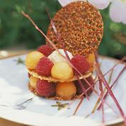 Croustillants de fruits de Provence à l'anis