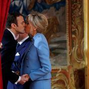 Emmanuel Macron et sa tribu