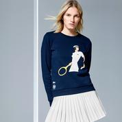 Lacoste, Swatch, Adidas... La mode aux couleurs de Roland-Garros 2017